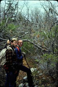 Sandia Mountains northeast wilderness study trip, NM