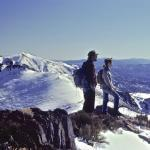 Karen Tanner and Ron Kezar on a field trip to Desatoya Mountains, Nevada