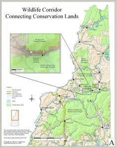 GRANIT Systems, Complex Systems Research Center, University of New Hampshire & elevation by USGS