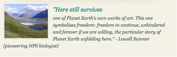 Quote by Lowell Sumner, from the USFW website