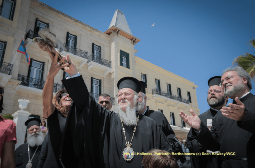 His All-Holiness, Patriarch Bartholomew (c) Sean Hawkey/WCC
