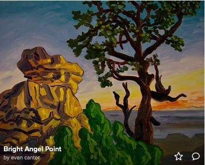 Bright Angel Point (c) Evan Cantor