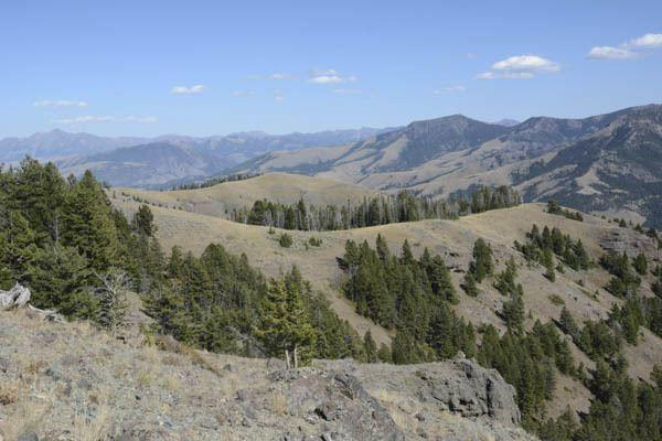 om Miner Basin Gallatin Range Montana (c) George Wuerthner
