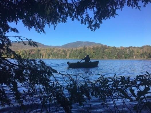 Bart on Moose Pond