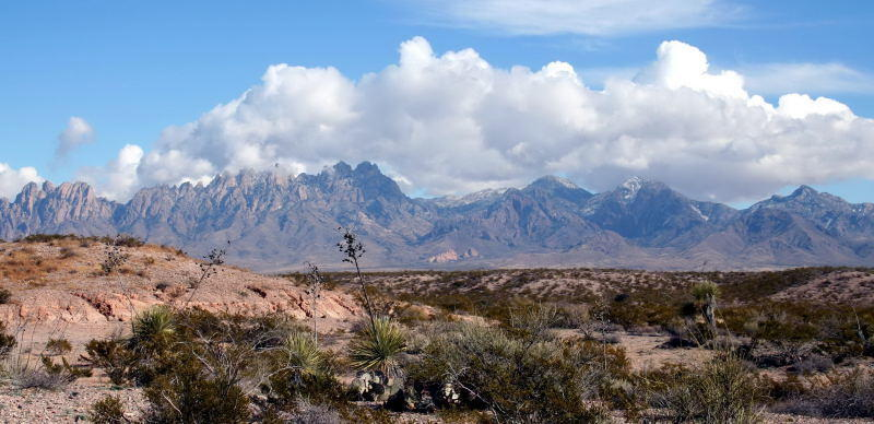Organ Mountains, NM. From National Monument to Wilderness Protection.