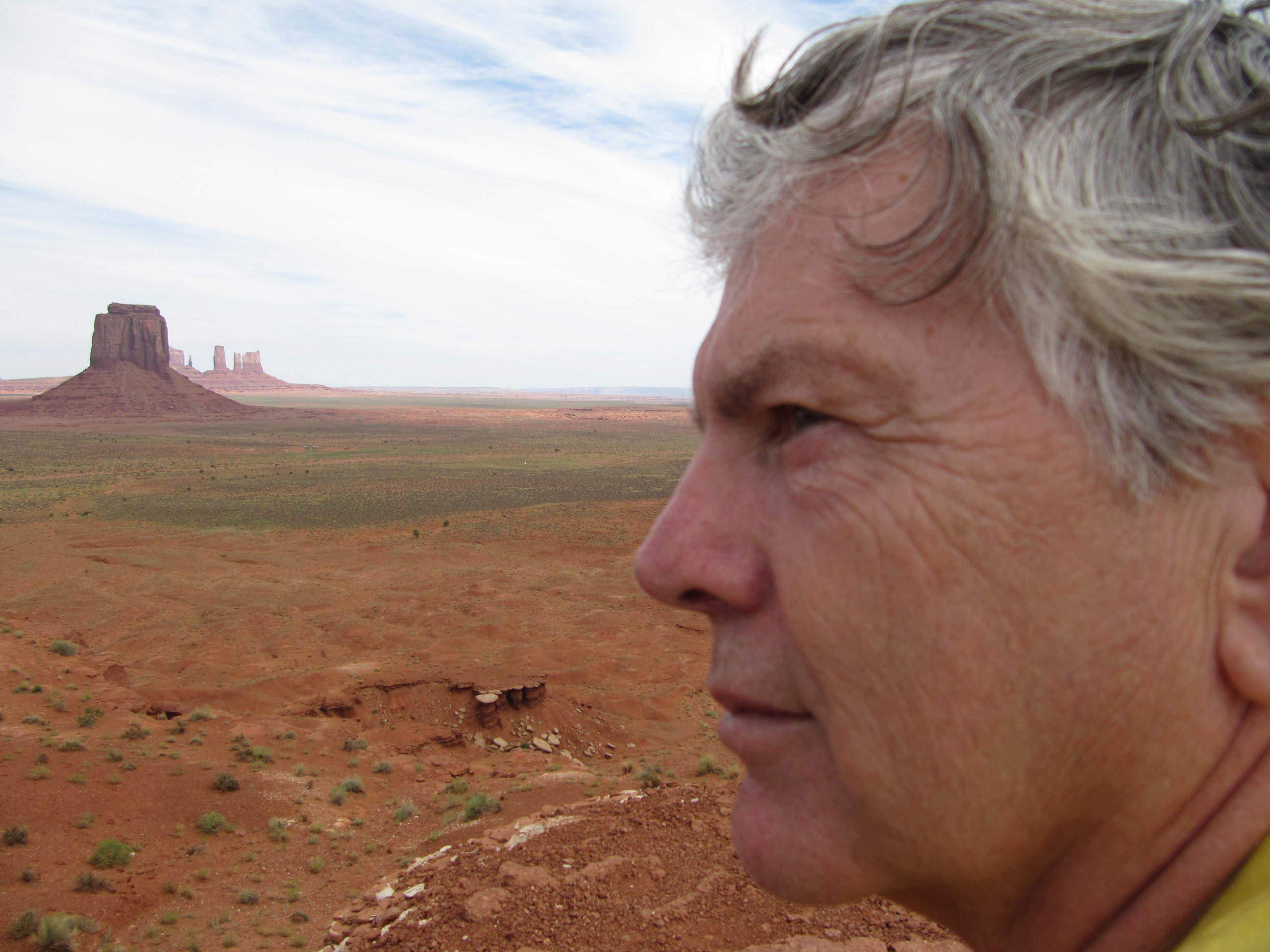 Randy Hayes, in Hopi Southwest