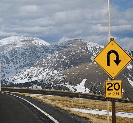 U-Turn © Scott Meis, Flicker