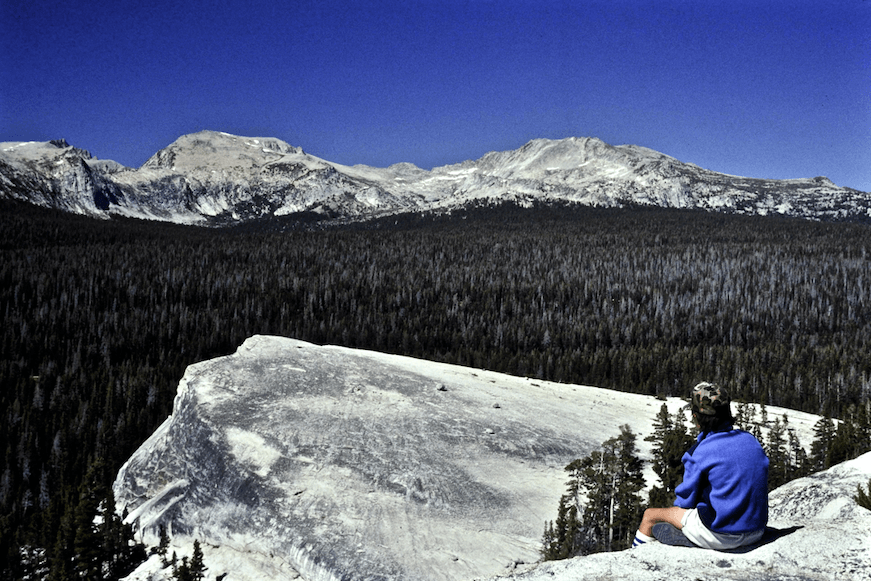 Yosemite National Park Wilderness Area north, CA © Dave Foreman