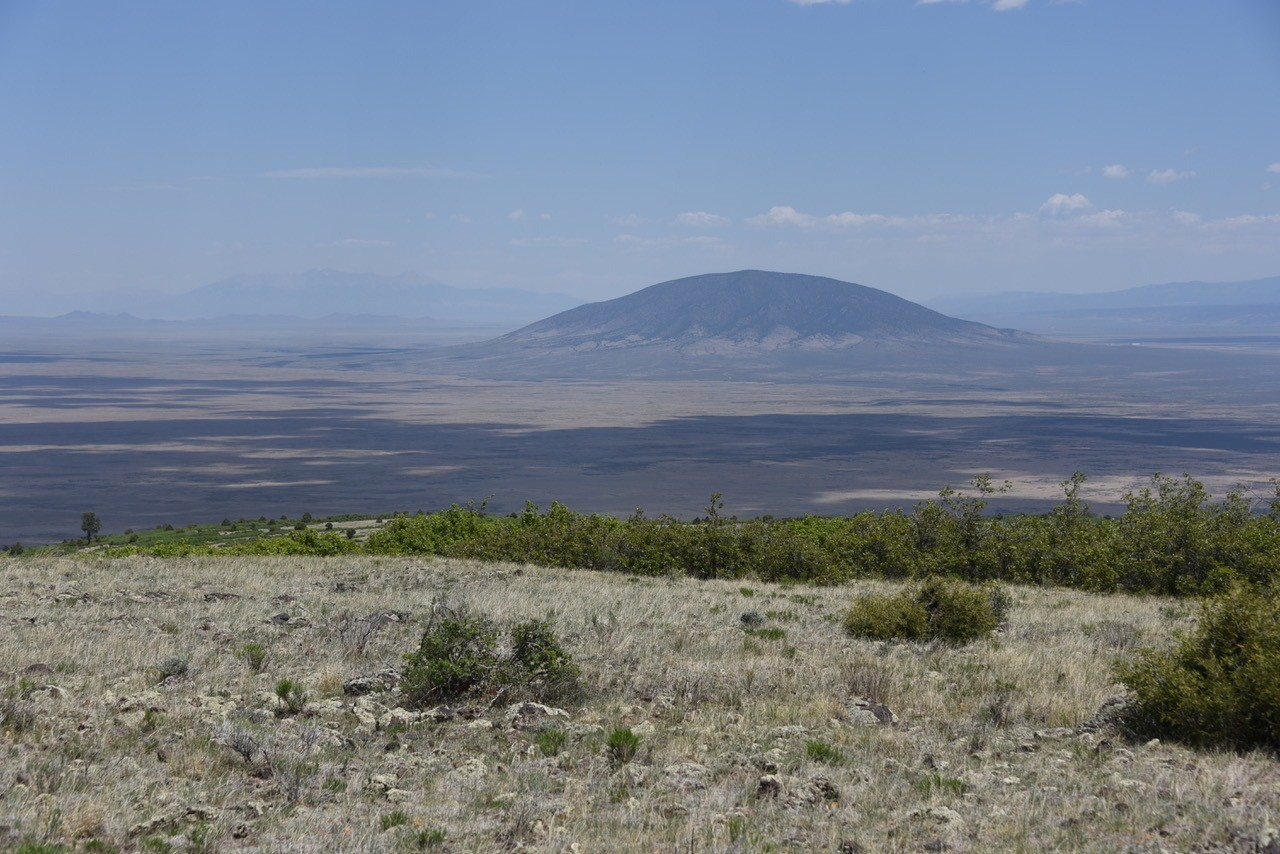 Taos Plain view of Cerro de Yuta and Colorado beyond © John Miles