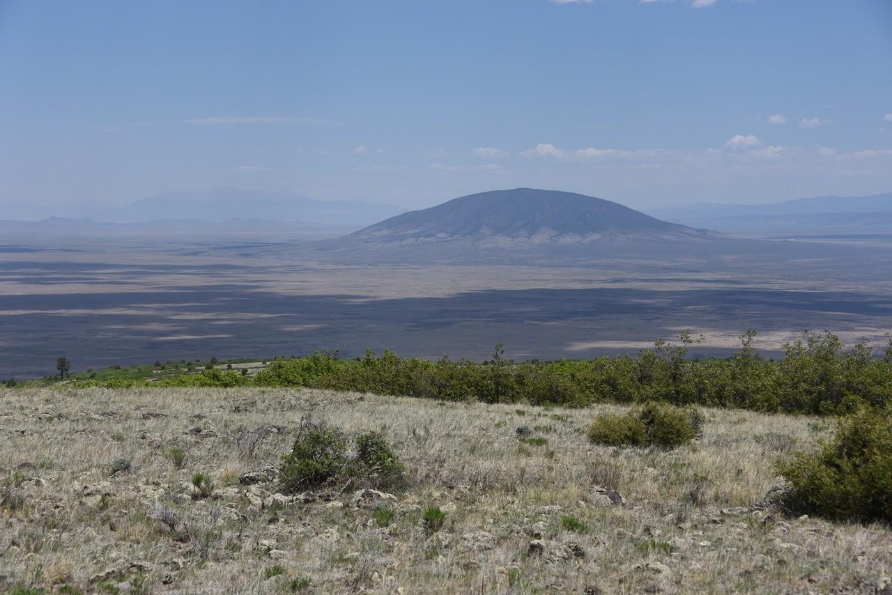 Taos Plain view of Cerro de Yuta and Colorado beyond © John Miles