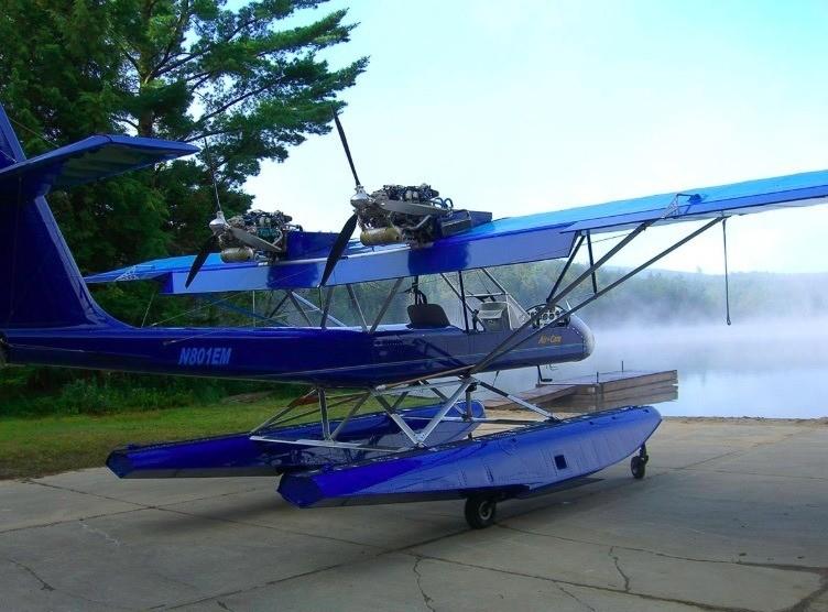AirCam at Utowana Lakes, Adirondacks, © NFA