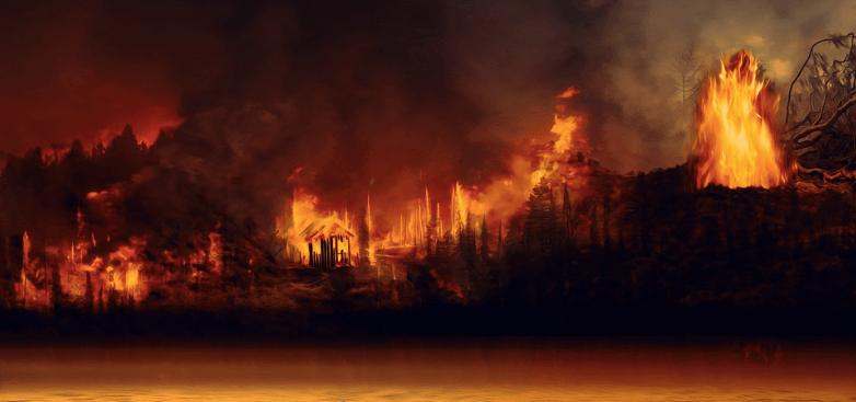 Amazon burning, Pixabay