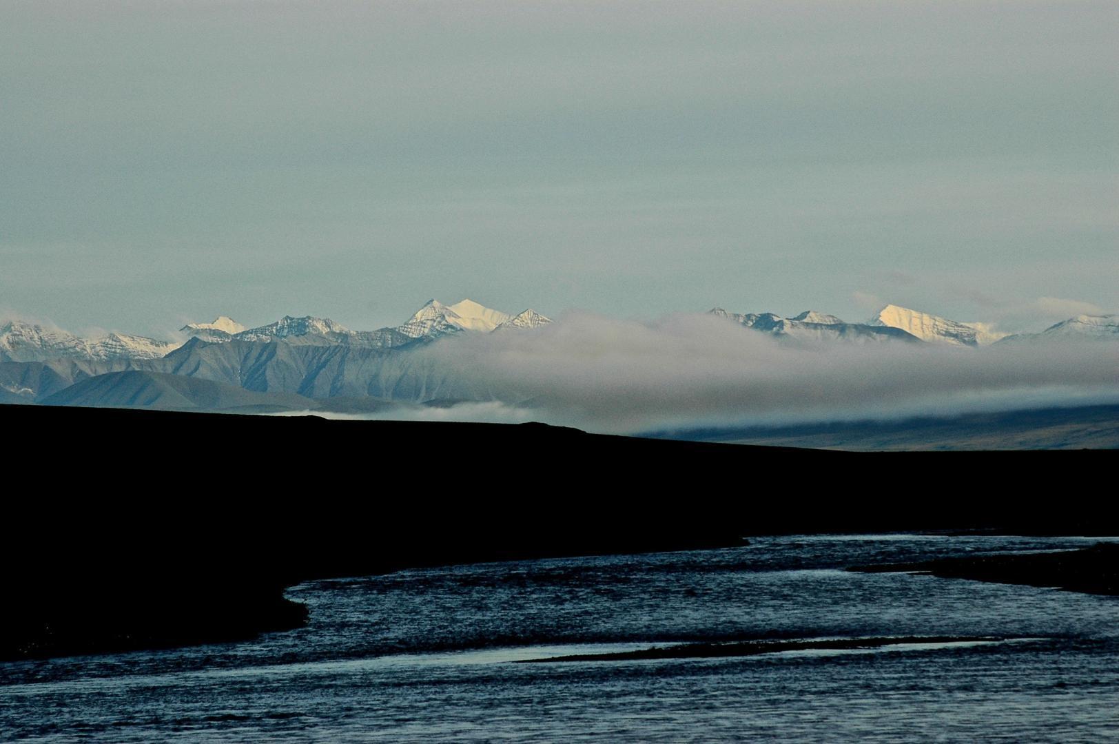Snowy Brooks Range, Canning River, Arctic NWR © Dave Foreman