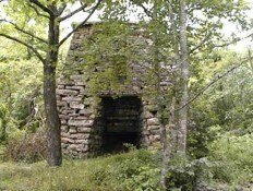 Catherine Furnace, Massanutten Mountain, George Washington National Forest, Courtesy of U.S. Forest Service