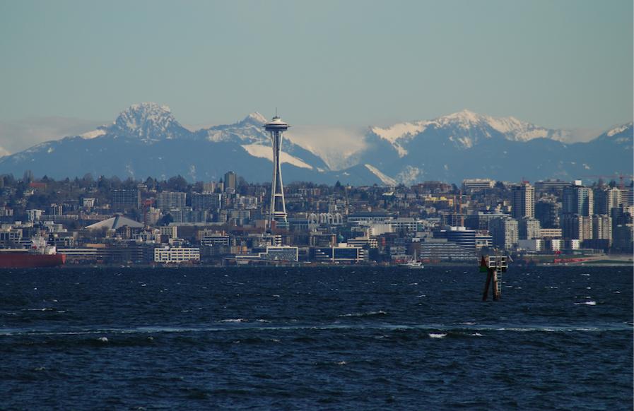 Seattle from Bainbridge Island © Robert Long