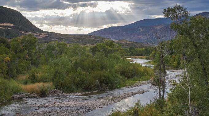 North Fork Gunnison River near Paonia Colorado