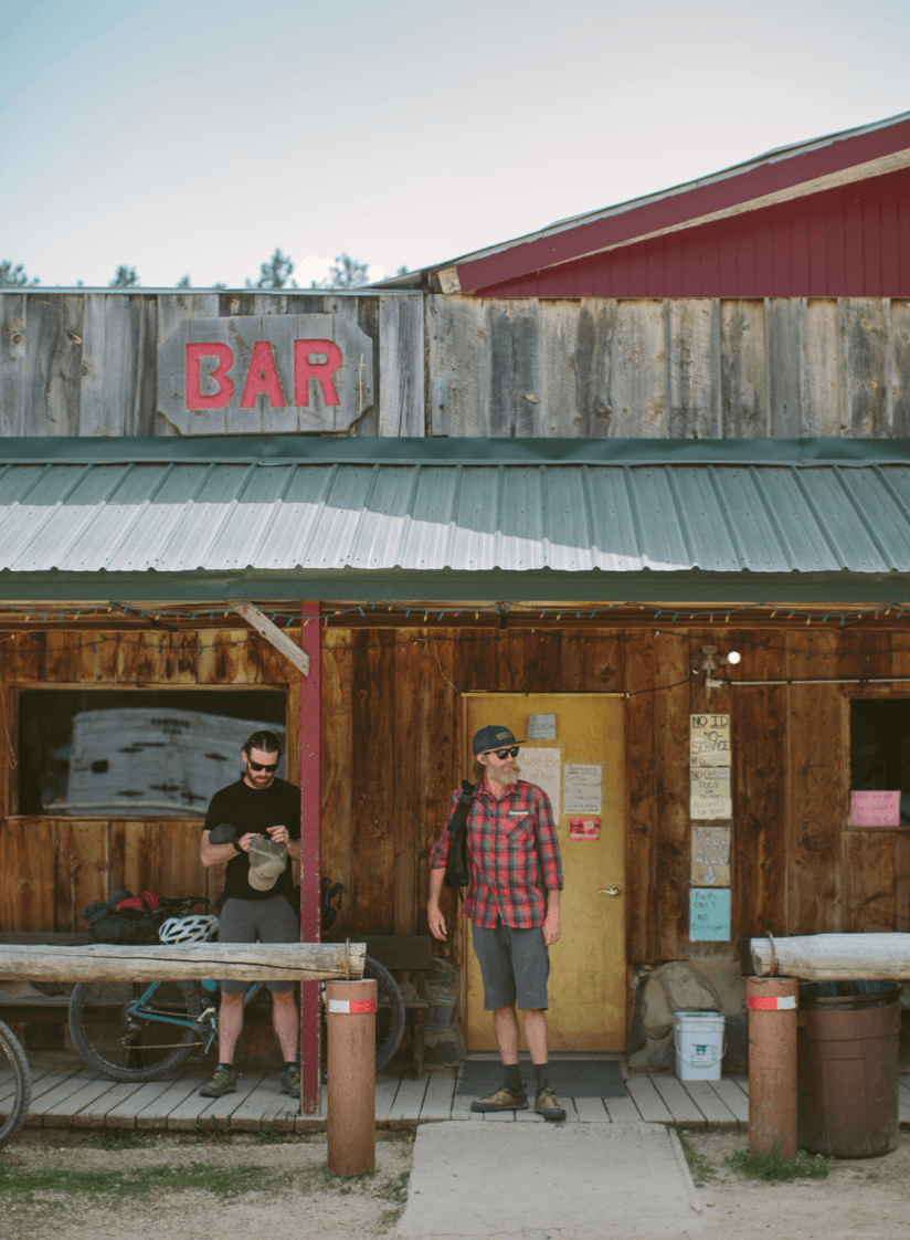 A much welcomed watering hole in Zortman, Montana—once a known hangout of Butch Cassidy and the Sundance Kid © Joel Caldwell