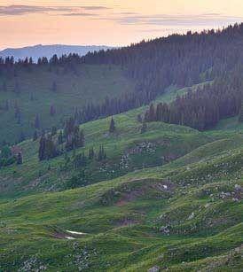 Huntsman Mountain on the Thompson Divide