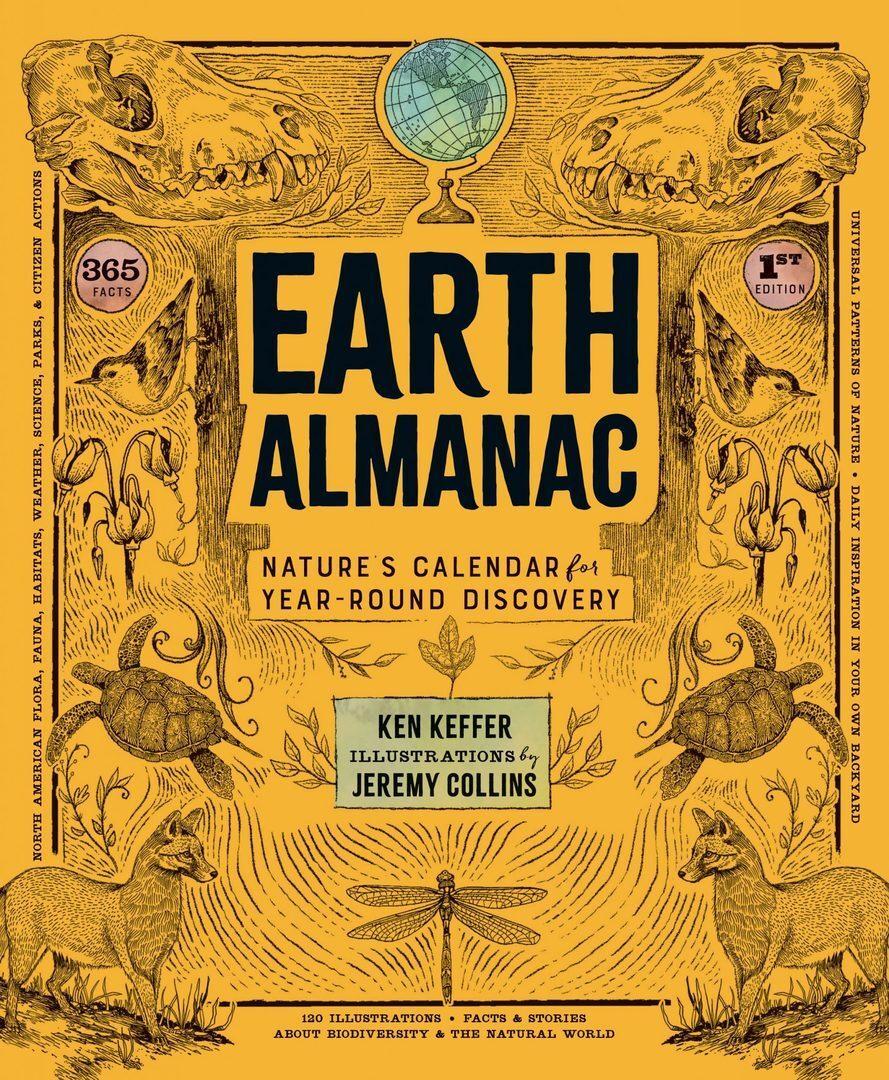 Earth Almanac by Ken Keffer with illustrations by Jeremy Collins
