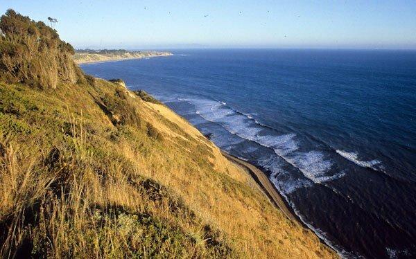 Coast along Coastal Trail to Wildcat Lake, Point Reyes National Seashore, California (c) George Wuerthner