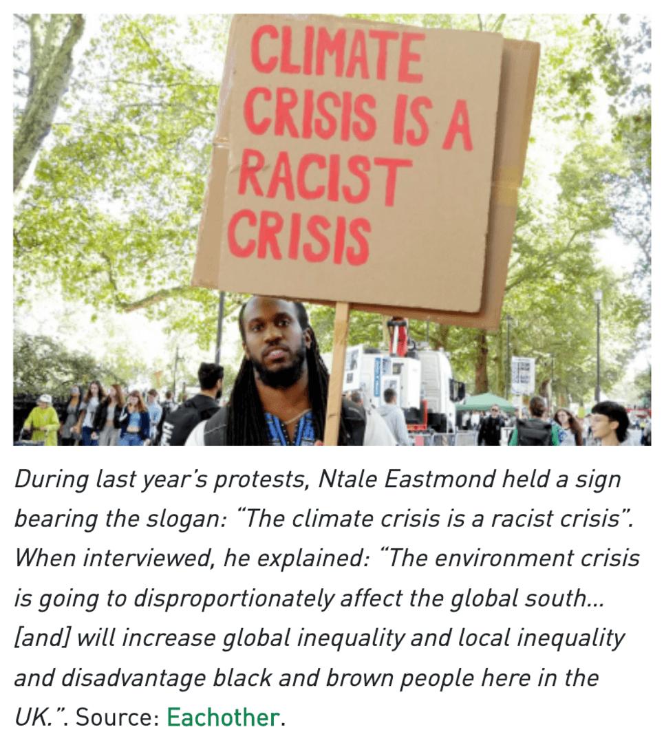 Climate Crisis is a Racist Crisis