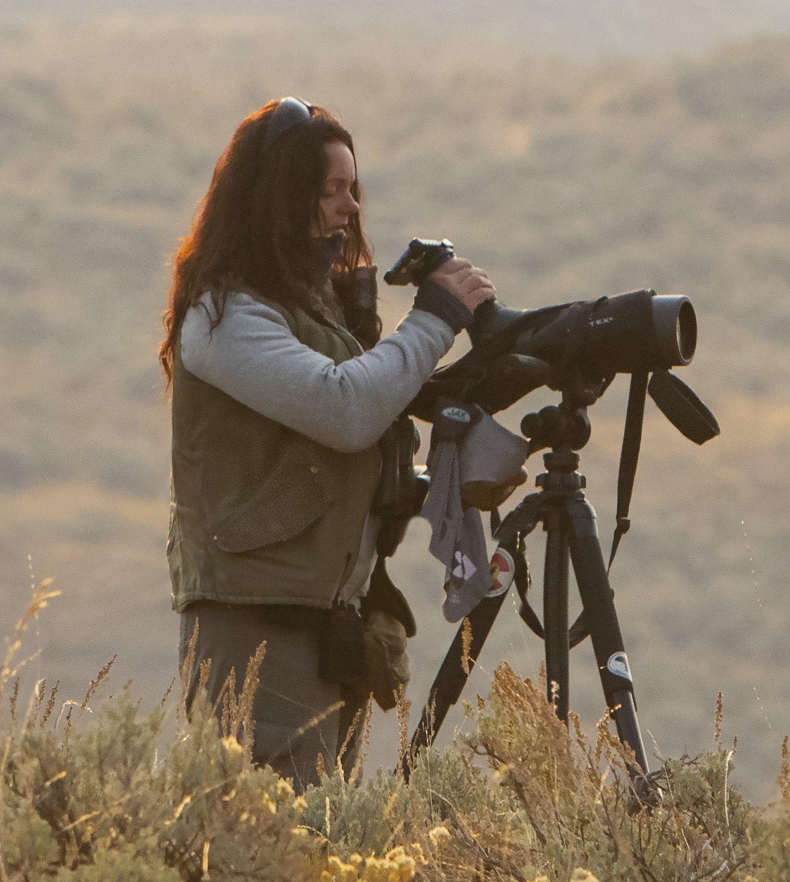 Krisztina Gayler at Yellowstone September 2020 (c) Heidi Pinkerton