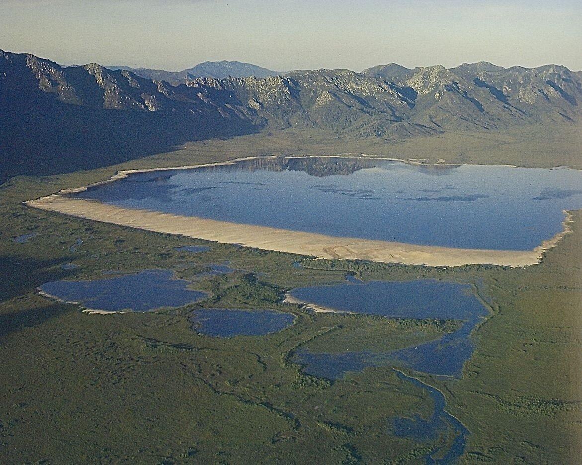 Original Lake Pedder (Credit: Elspeth Vaughan)