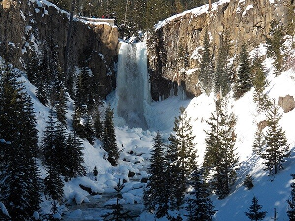 Tumalo Falls on the proposed Tumalo Creek Wild and Scenic River. Source: Oregon Wild.