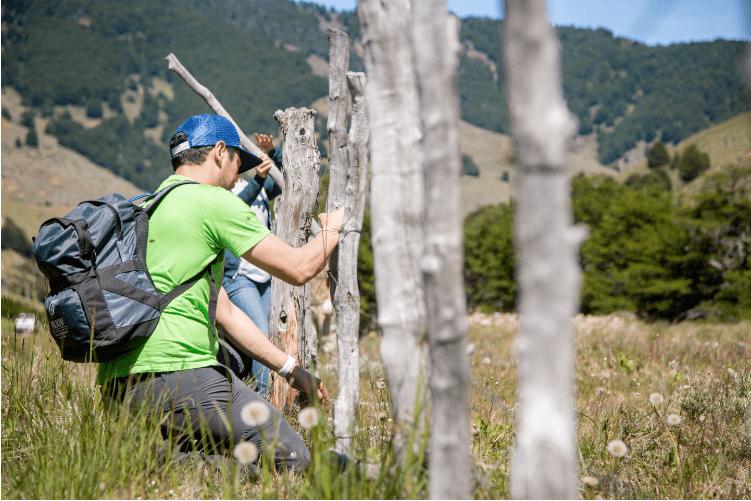 Youths rescue the huemul in Cerro Castillo National Park