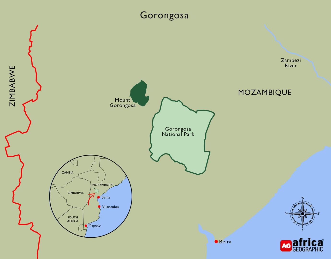 Gorongosa Map