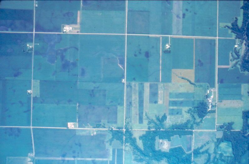 Aerial photo of Iowa (DNR stock)