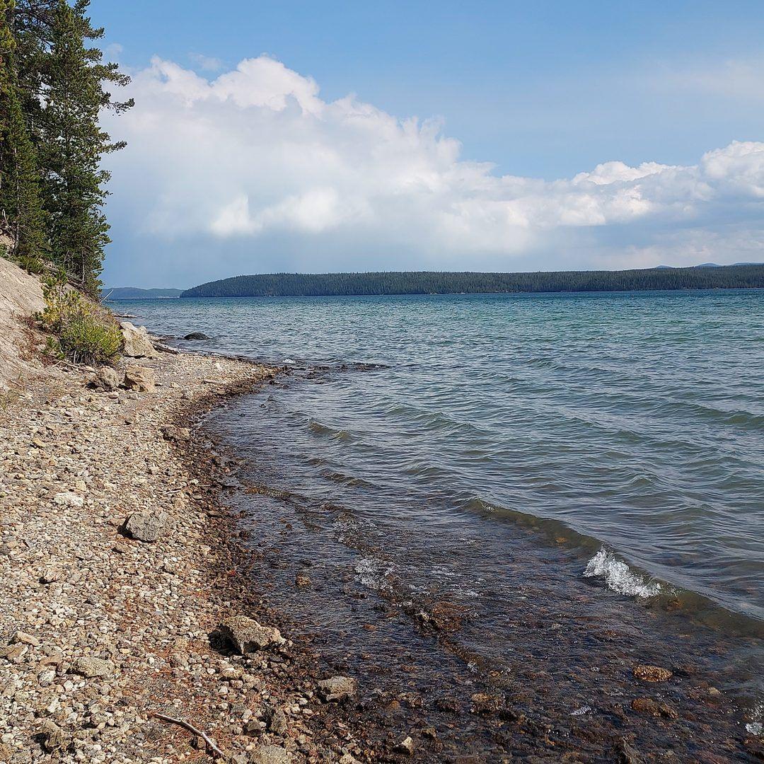 Shoshone Lake area