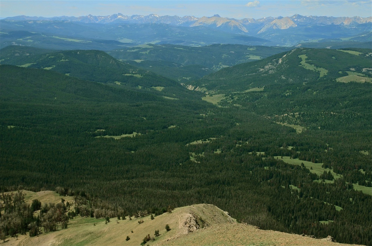 Gallatin Range Proposed Wilderness, Buffalo Horn drainage, Custer-Gallatin National Forest, MT (c) Howie Wolke